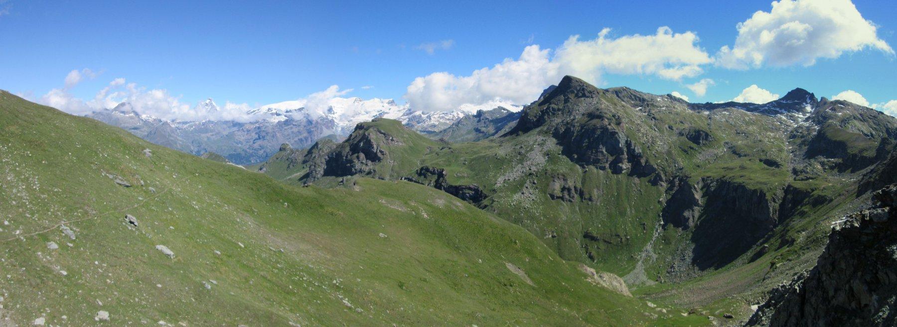 Panorama dal Colle Palasina
