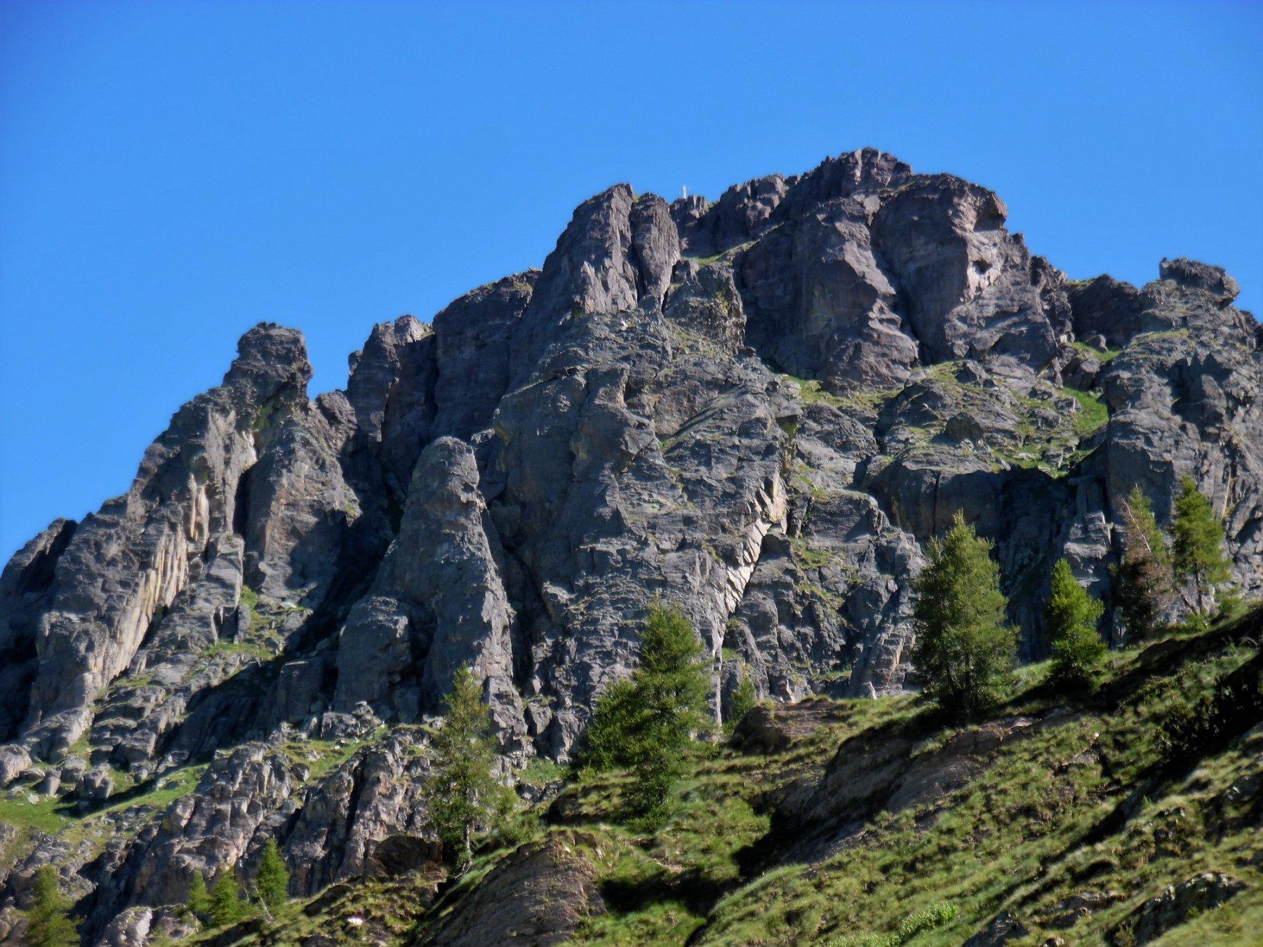 Pizzo del Becco 2503 m, versante sud