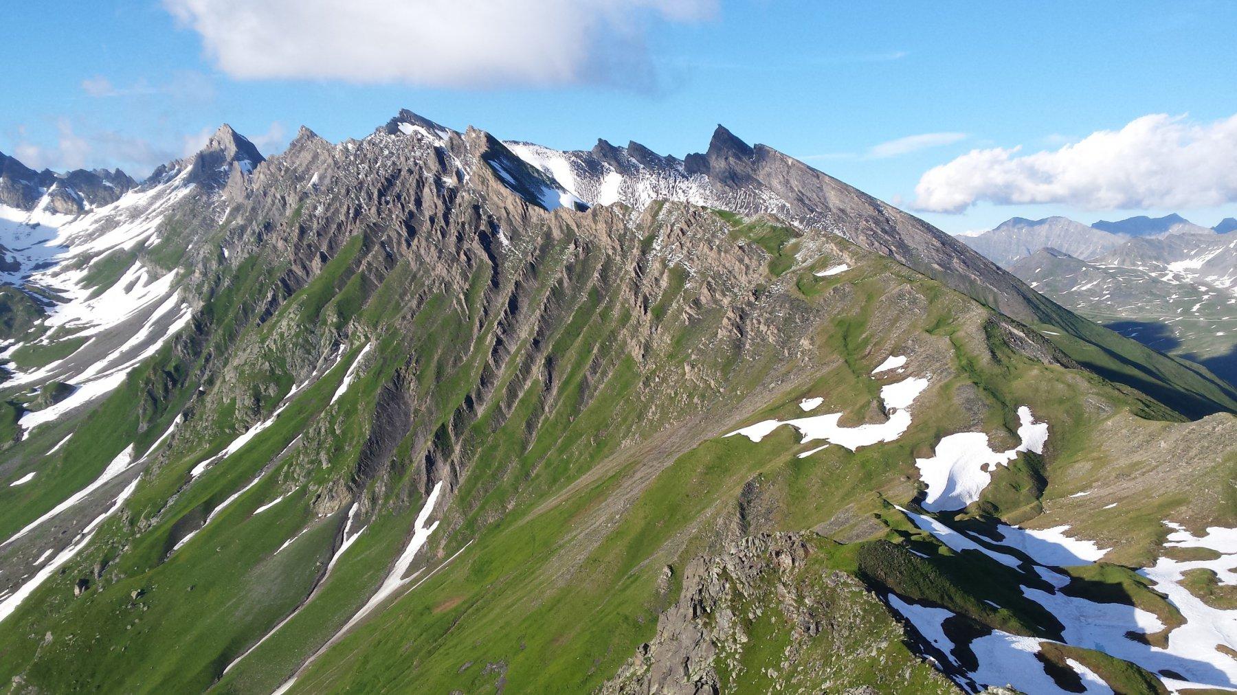 Clapet (Aiguille du) dal Colle del Piccolo San Bernardo 2016-07-15