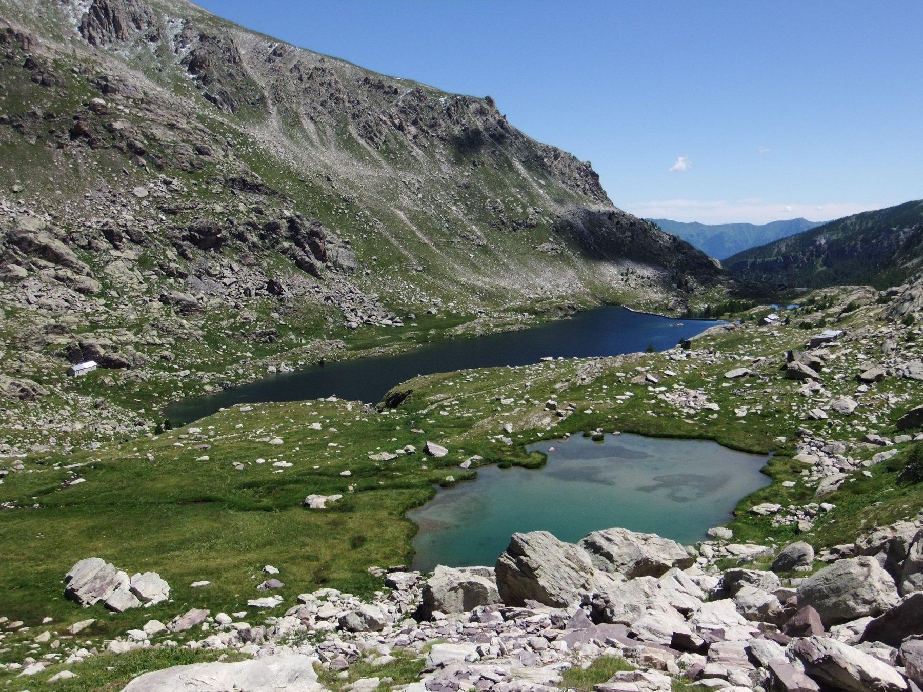 Lacs (Cime des) da Lac des Mesches 2016-07-15