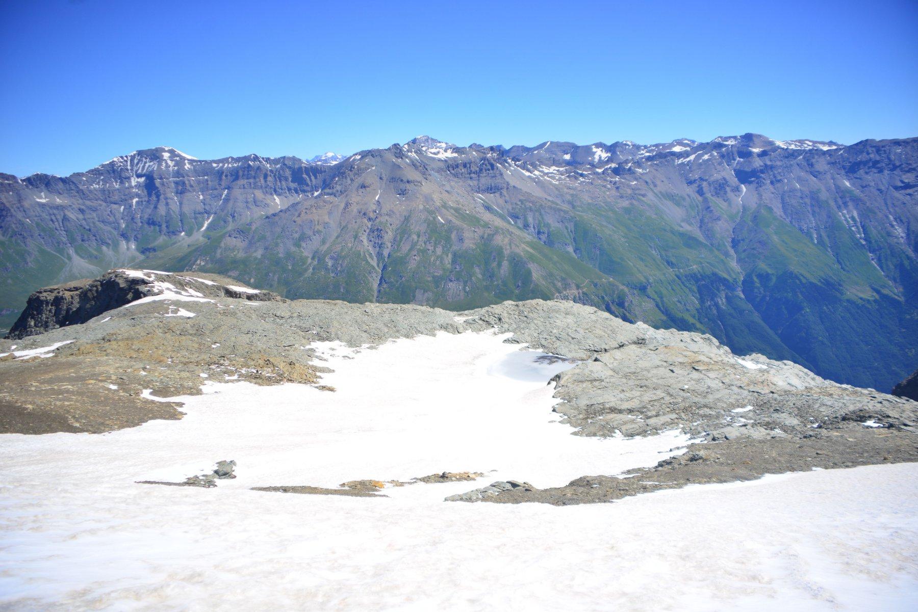 ex ghiacciao e punta di Bard
