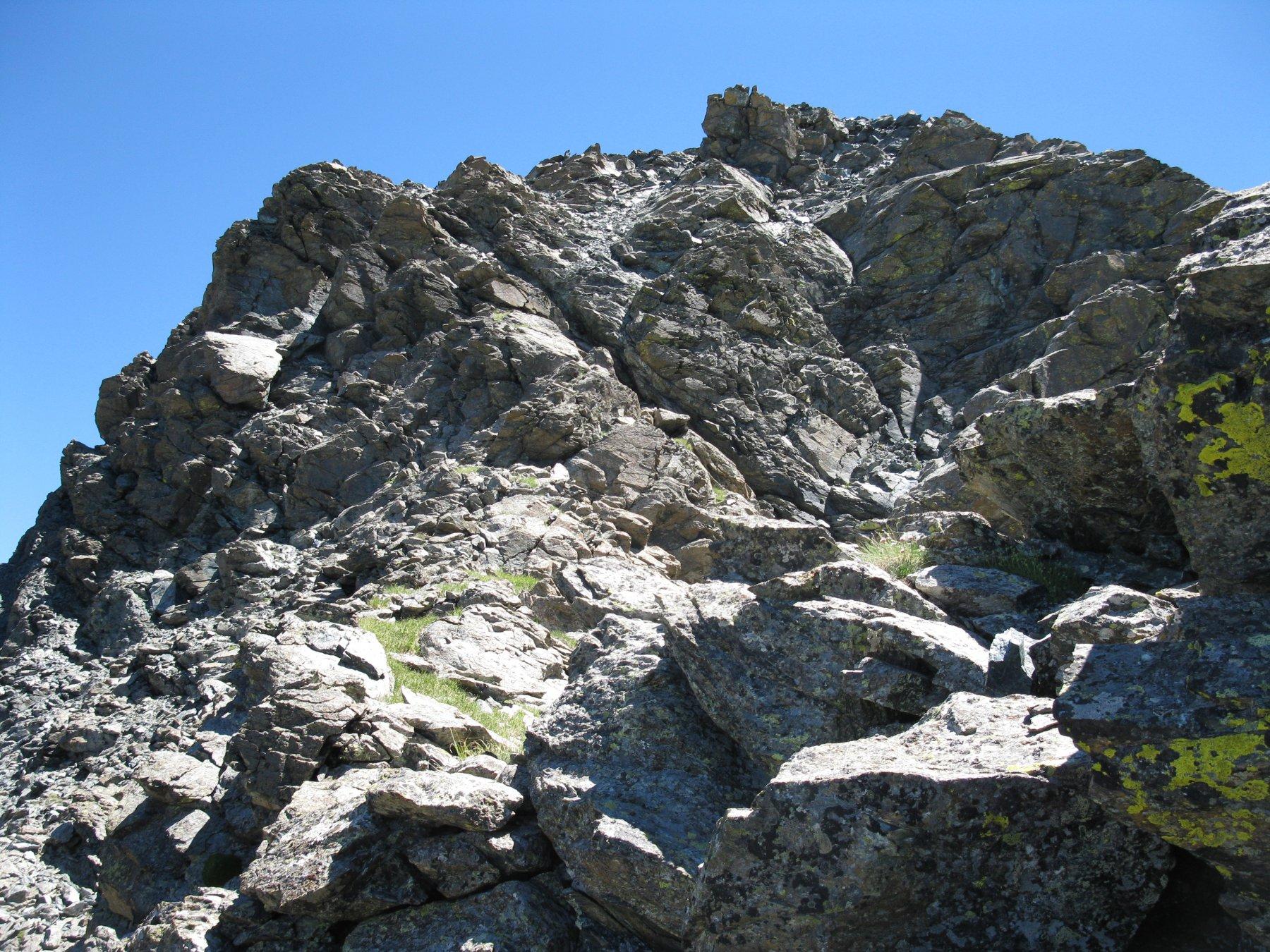 Orsiera (Monte, Punta Sud) Cresta NO 2016-07-16