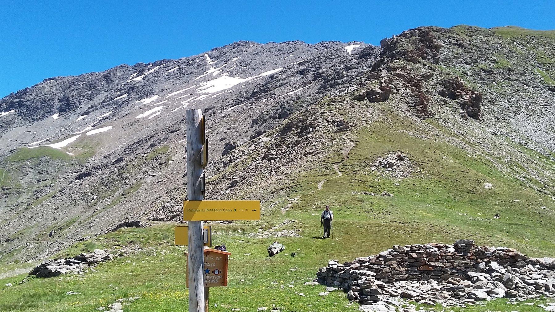 Petit Mont Cenis (Signal du) o Punta Clairy dal Col du Petit Mont Cenis, anello per Pas de la Beccia e Col de Sollières 2016-07-16