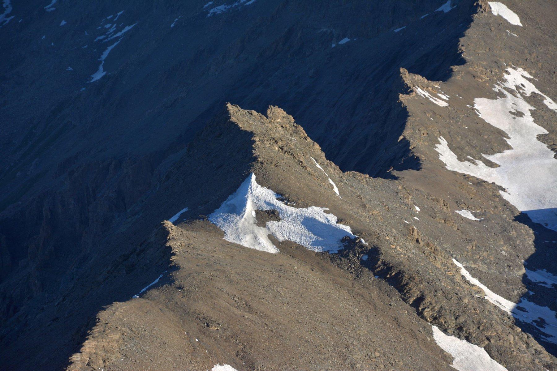 il passo Novalesa ancora ghiacciato