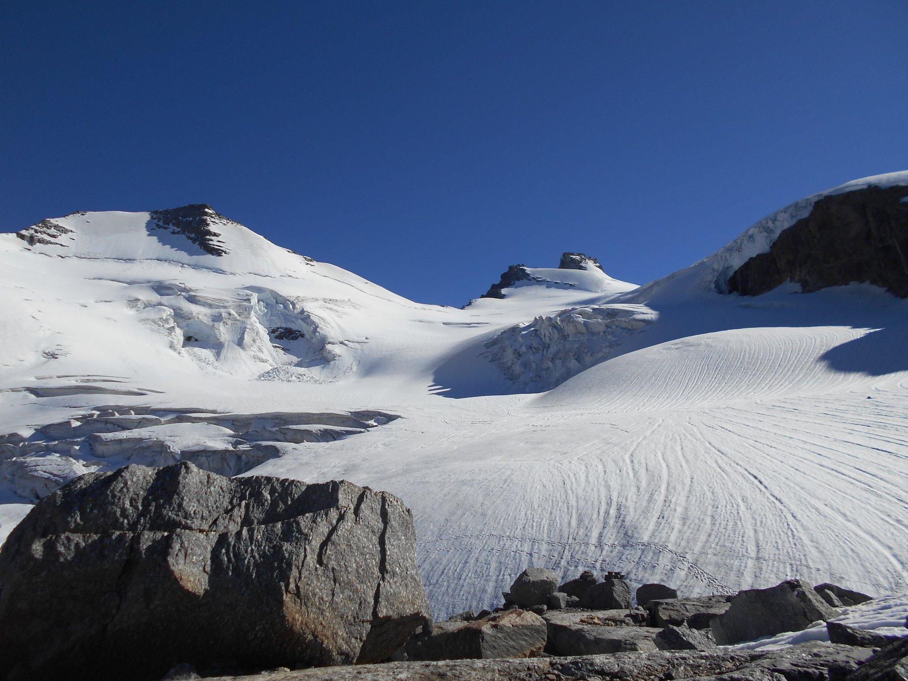 Ceresole (Punta di) da Valnontey e il colle di Chamonin, il versante sud e la cresta Est 2016-07-17