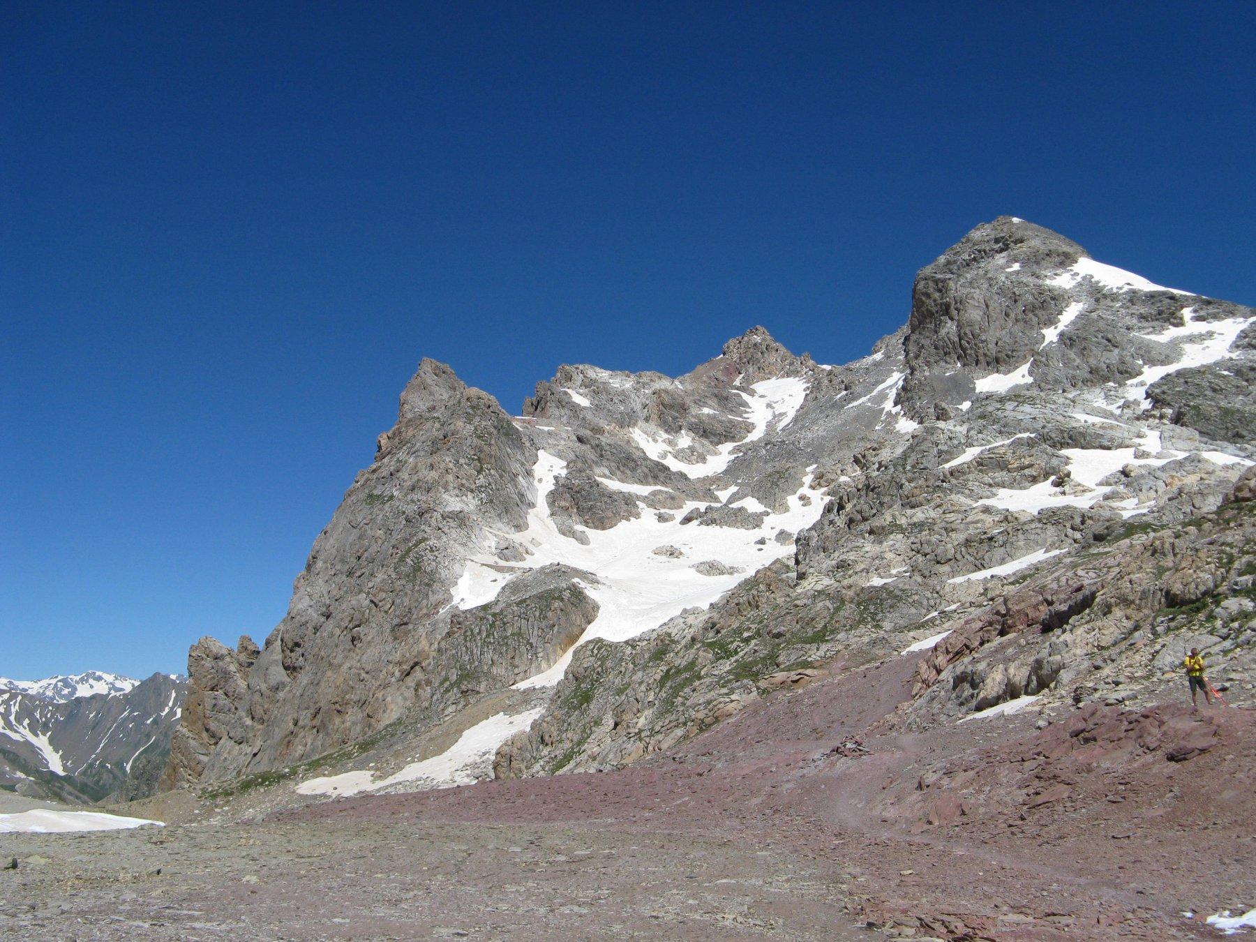 Grand Galibier (le) cima Ovest da les Mottets per il Col Ponsonnier 2016-07-17