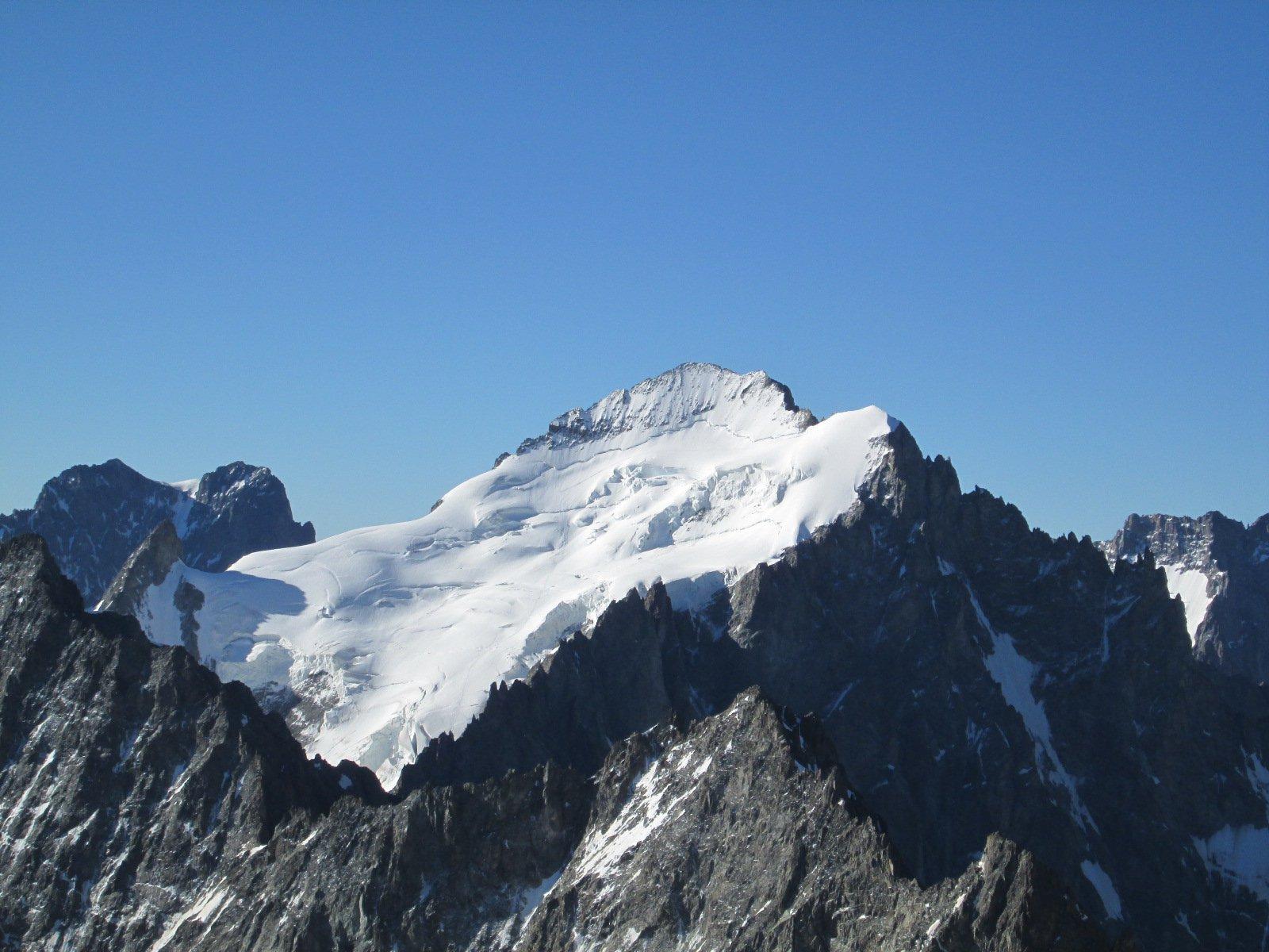 dalla cima la Barre des Ecrins