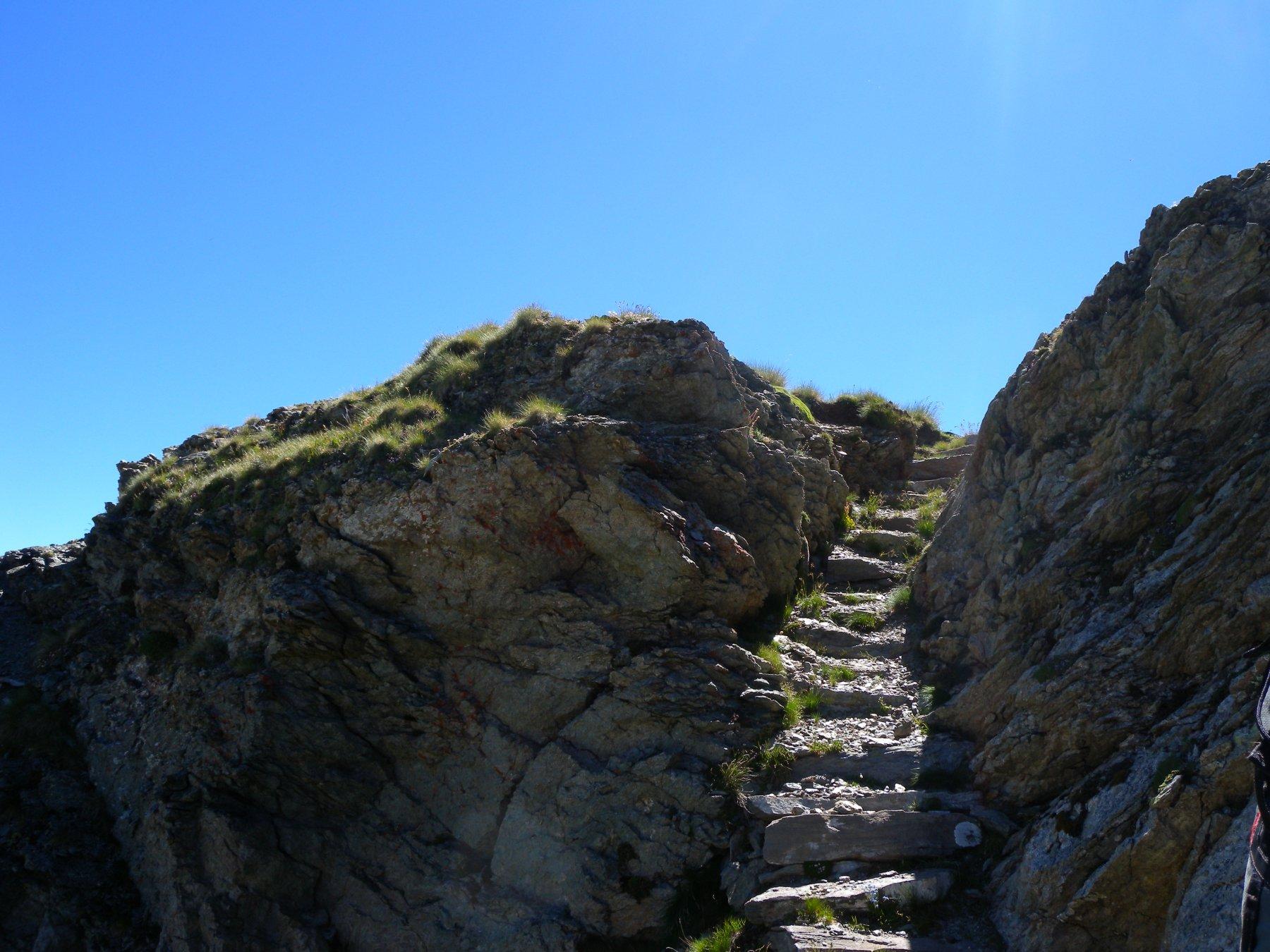 Sentiero/gradinato