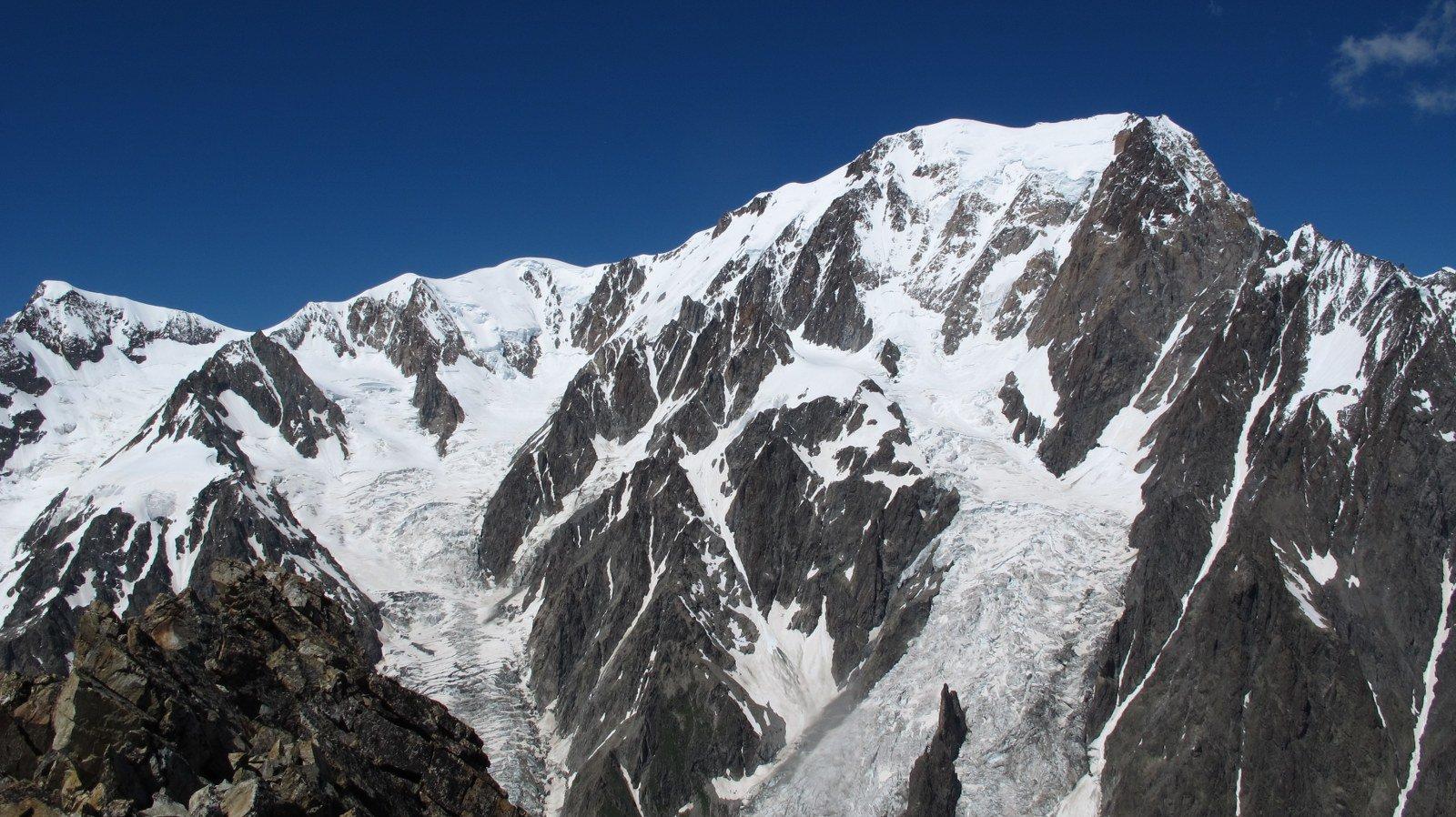 Il Bianco dalla cima del Piccolo M.Bianco