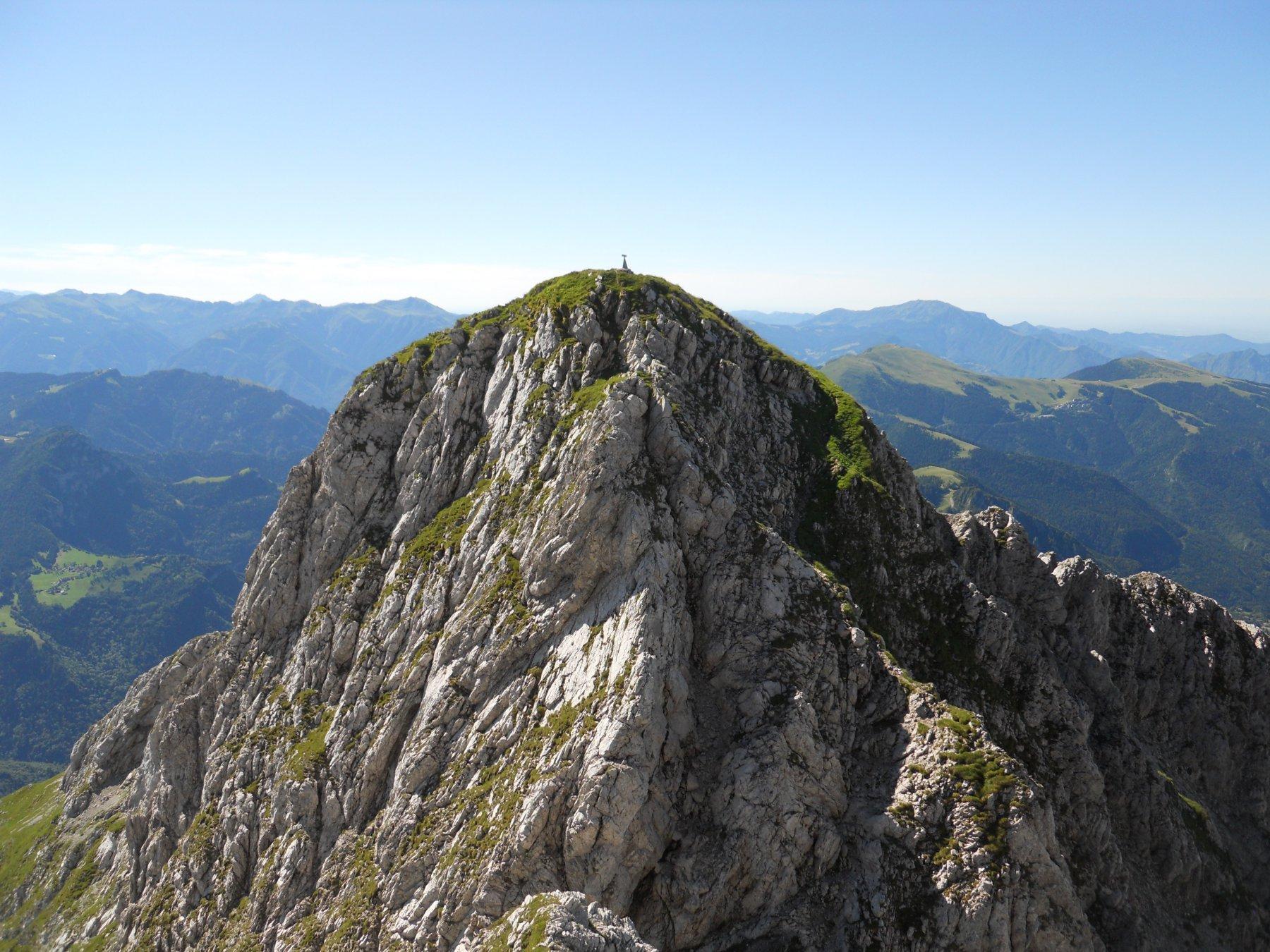 Presolana (Pizzo della), cima Occidentale Traversata delle Creste dal Passo Presolana 2016-07-17