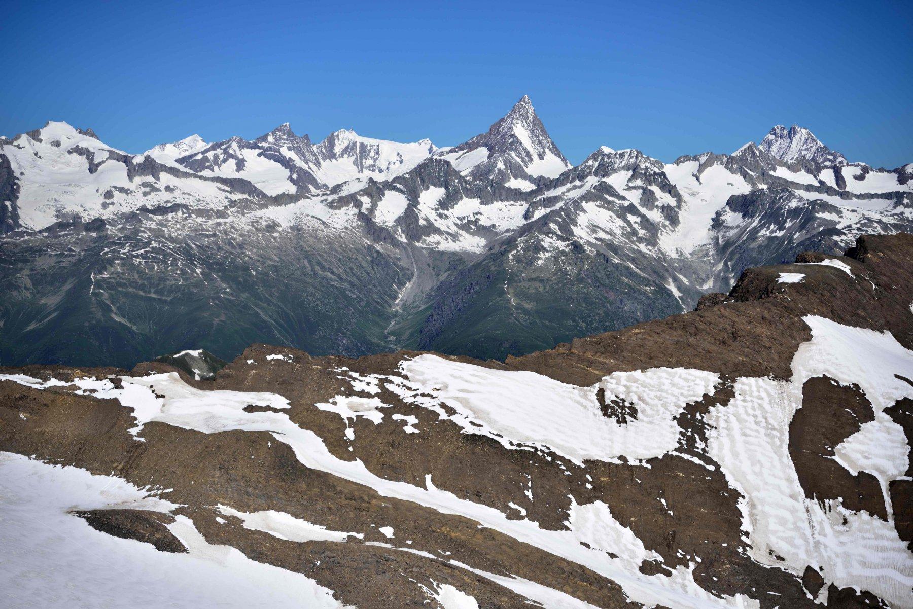 Panorama sull'Oberland dalla vetta