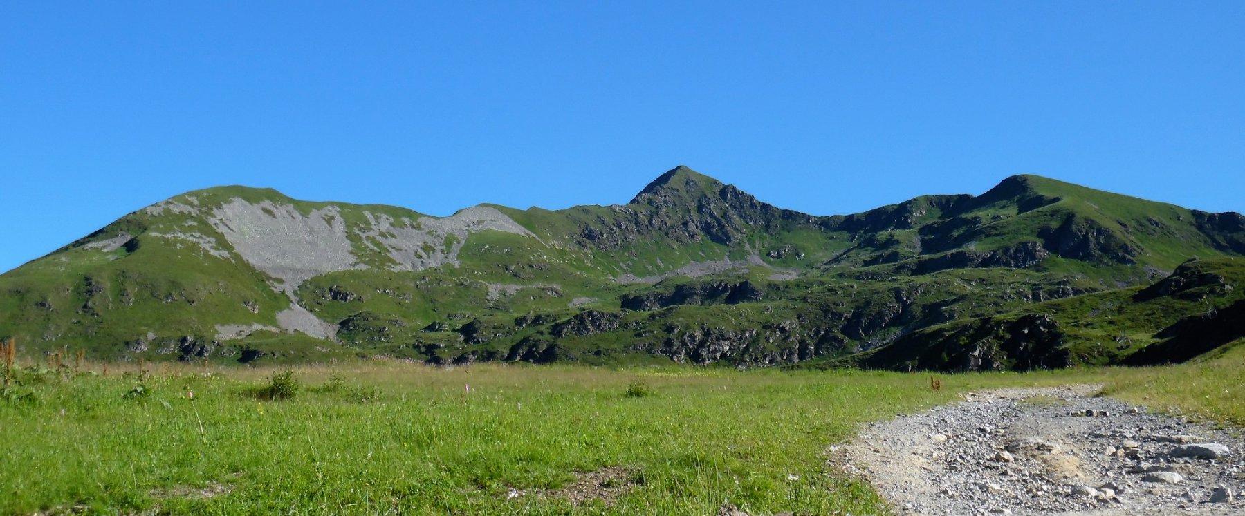 Monte Toro cresta sud-ovest e sud-est