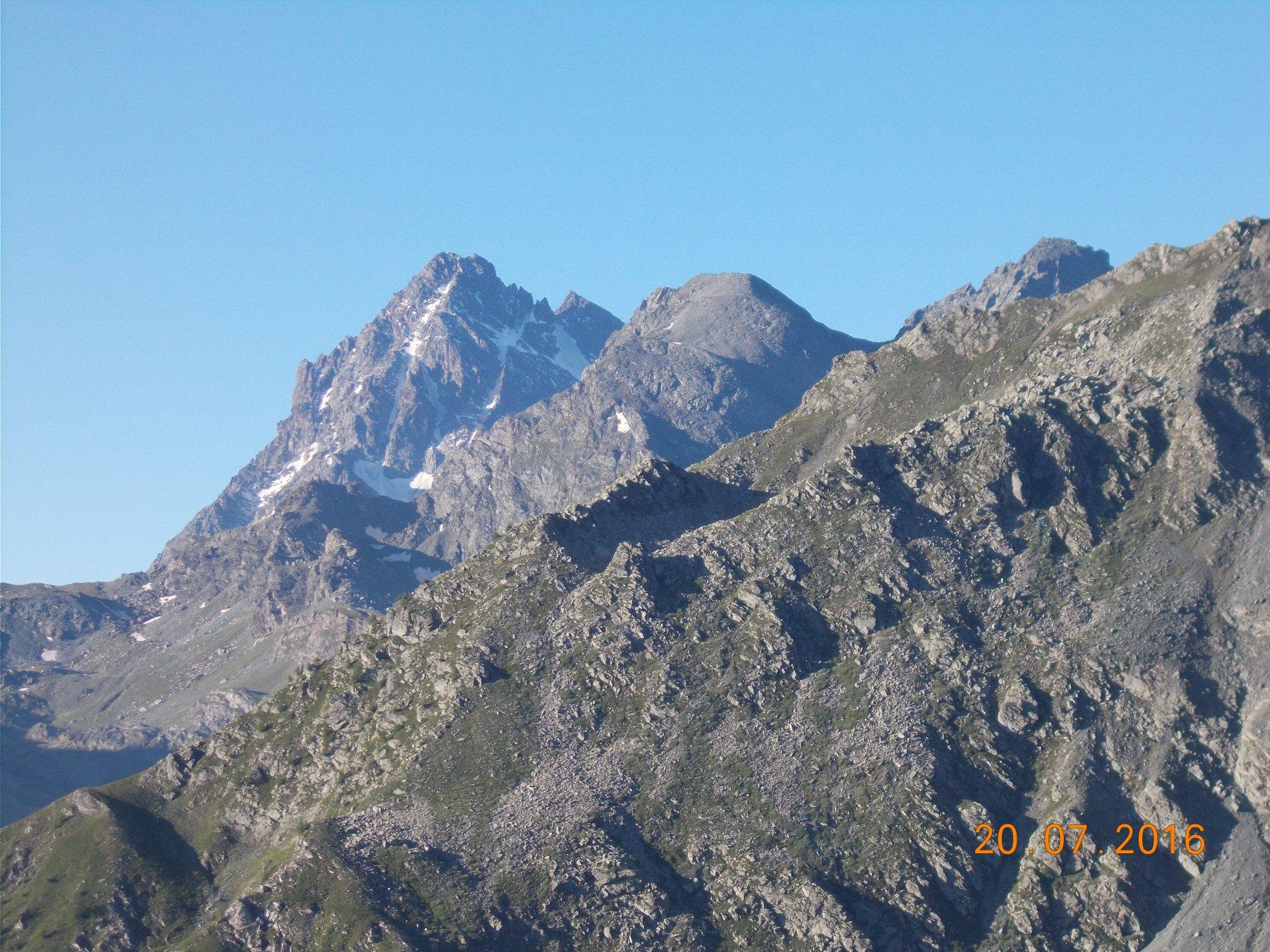 Il Monviso dal rifugio Barant sito a 2373m