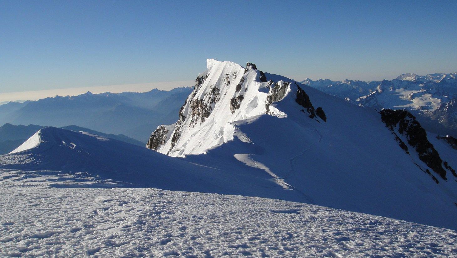 Monte Bianco di Courmayeur dalla vetta