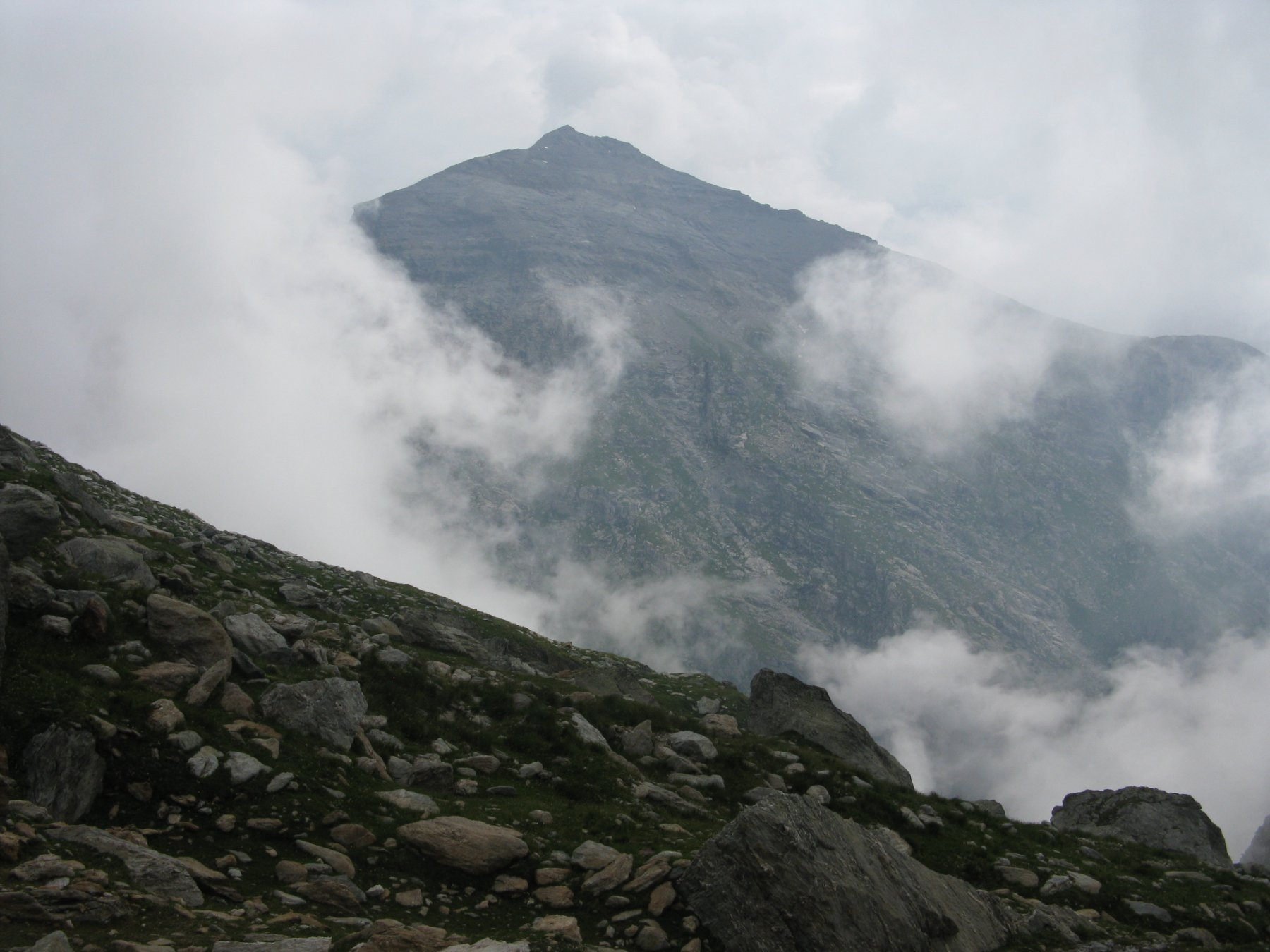 il Niblè in mezzo alle nuvole