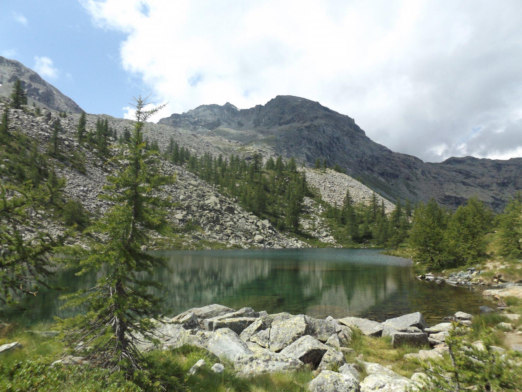 Barbustel (Rifugio) da Veulla, anello per il Lago Leser 2016-07-24
