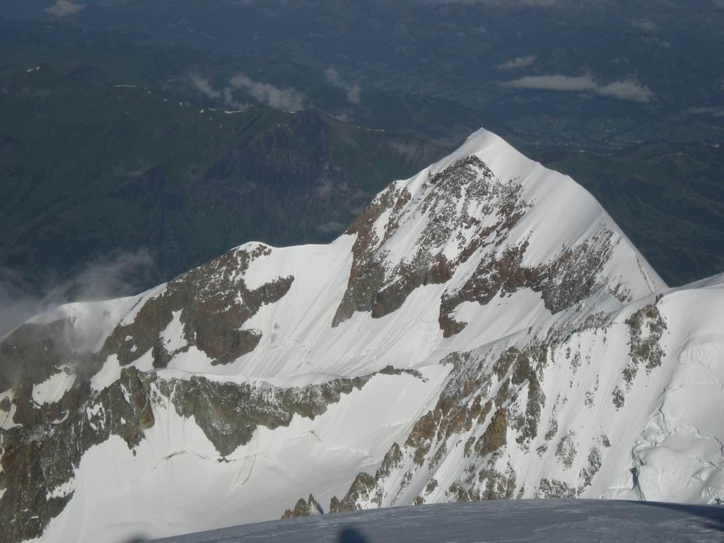 Sotto la Bionassay si vede la cresta percorsa