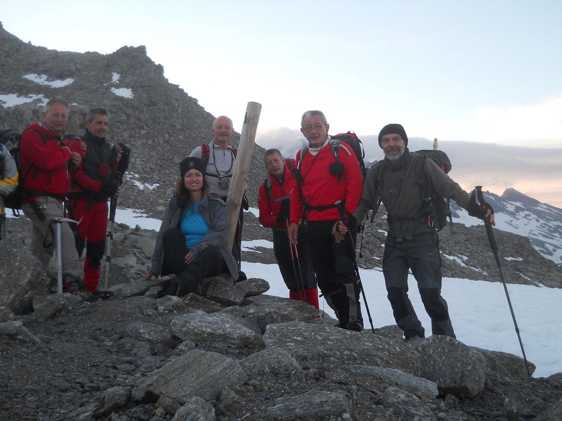 il Col de Pariotes, 3034 mt