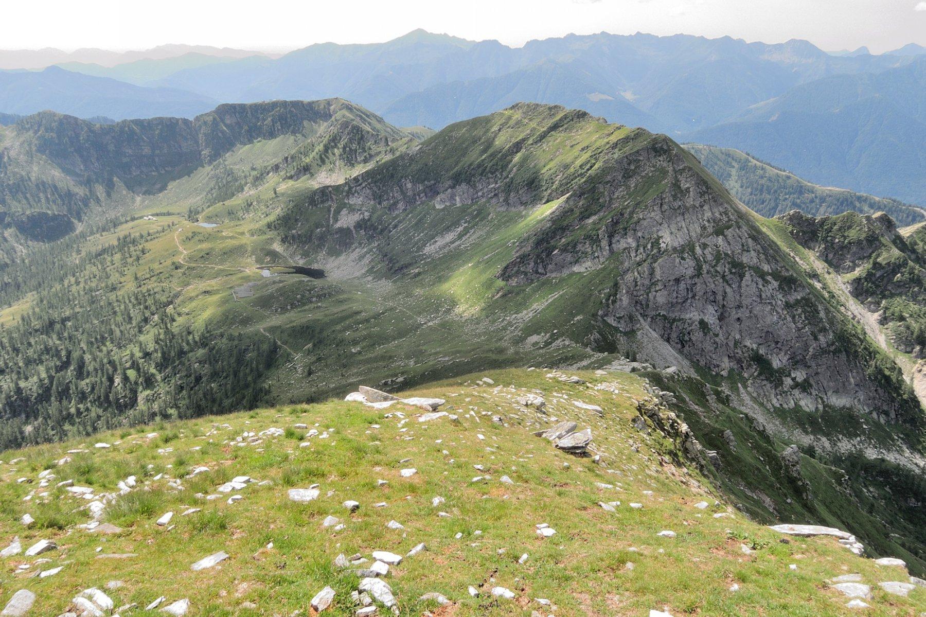Cresta Sud vista dalla cima