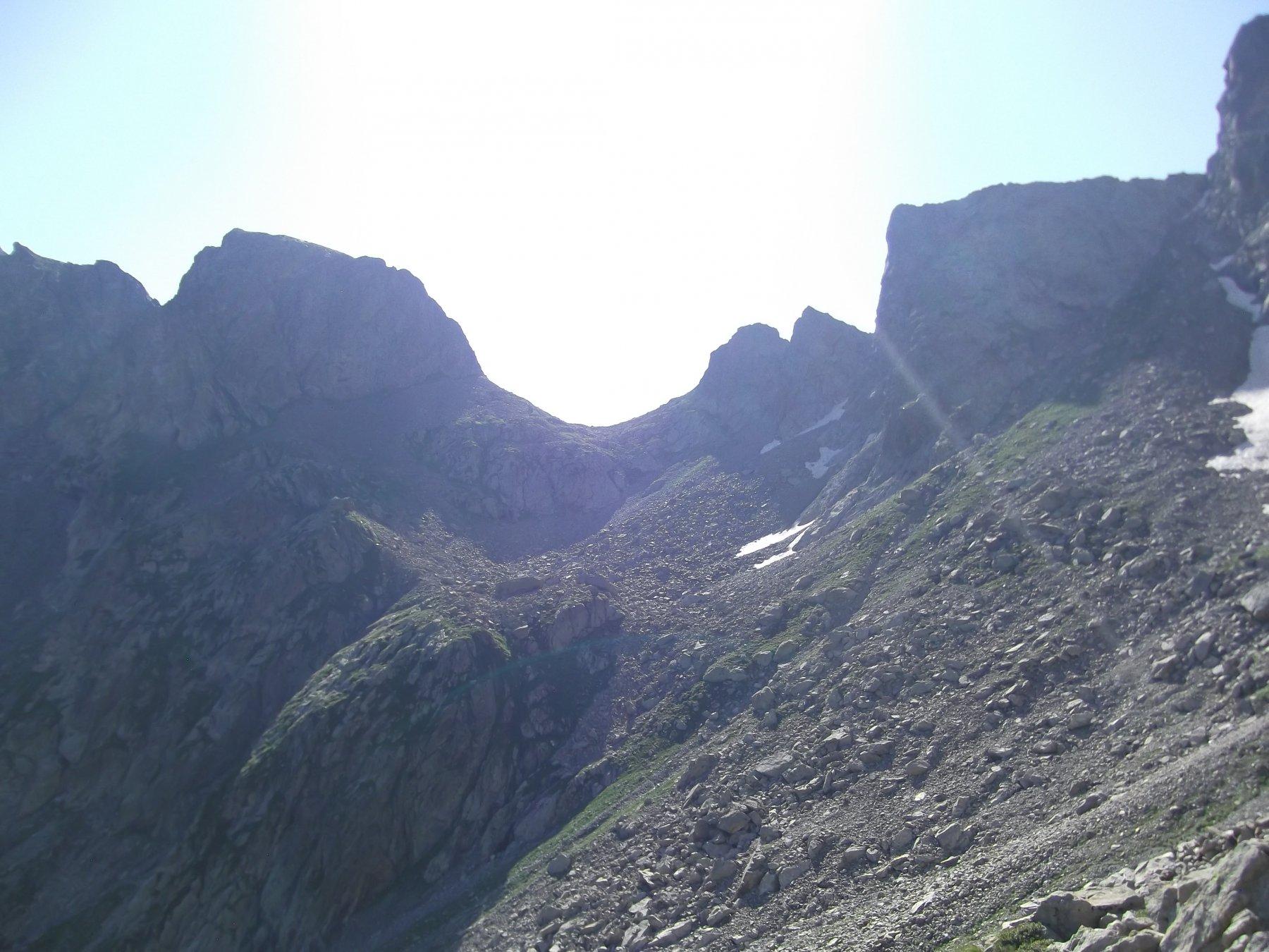 Passo dell'Agnel (m.2560).
