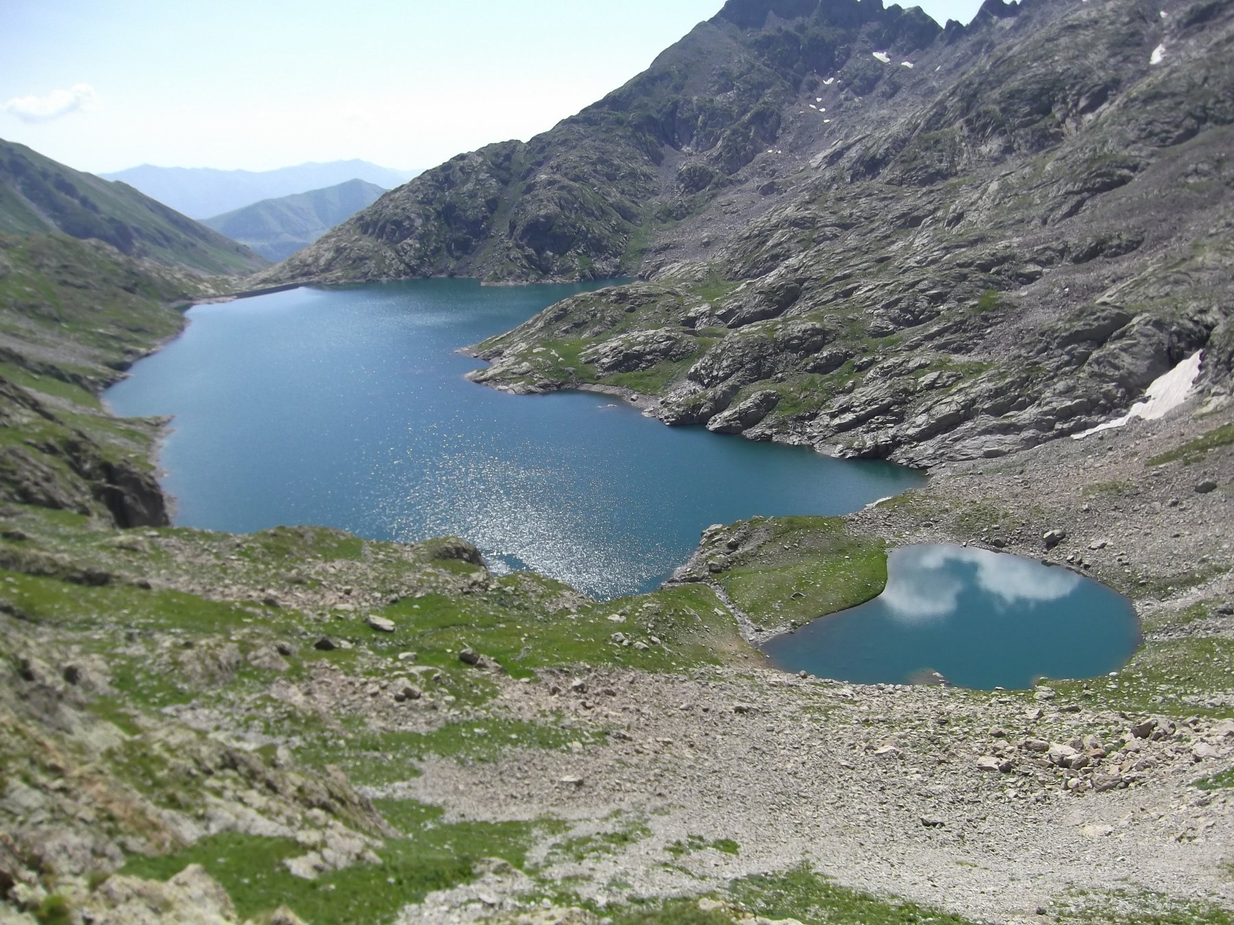 Lago dell'Agnel (Francia).