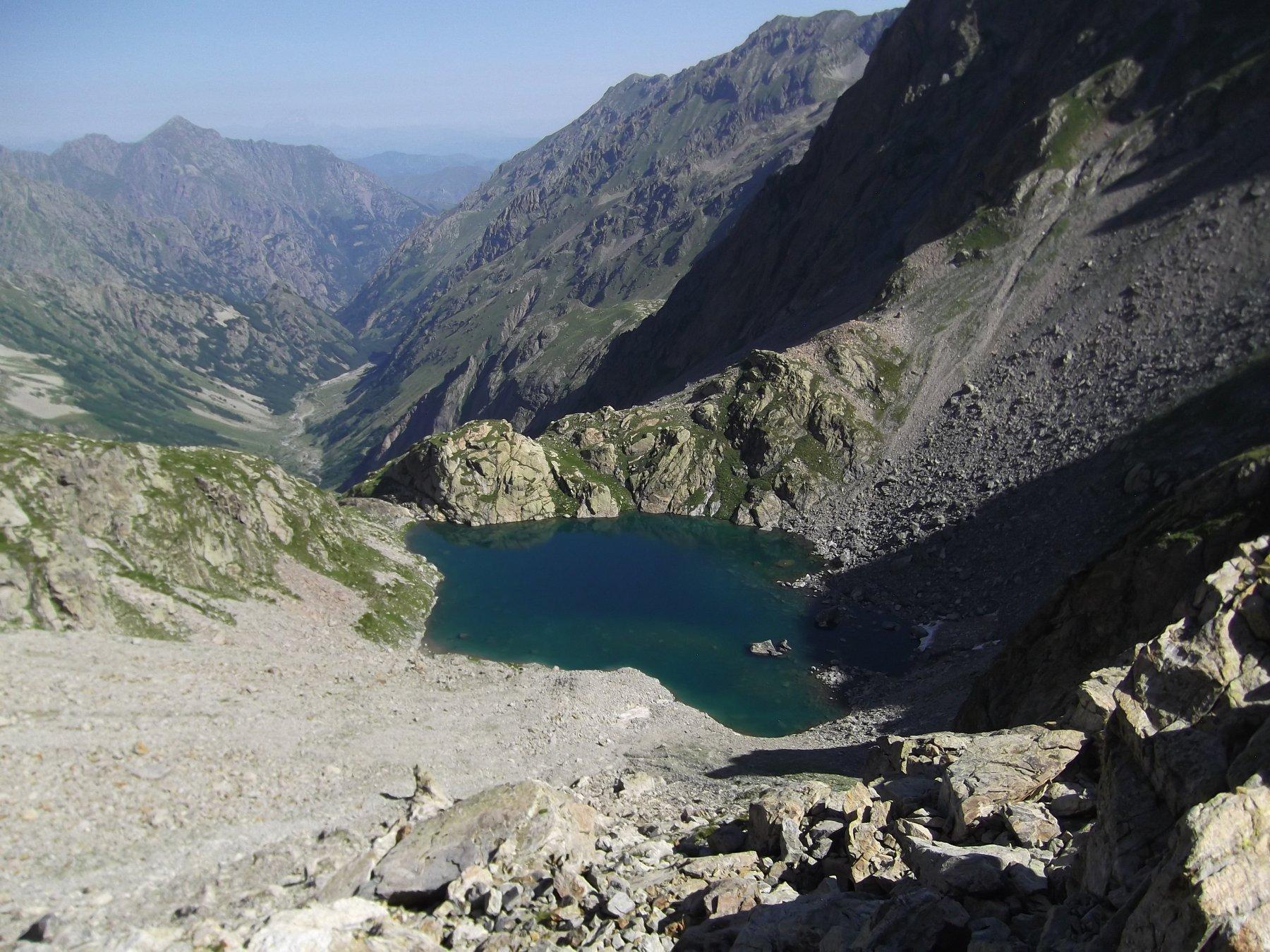 Lago Bianco dell'Agnel.