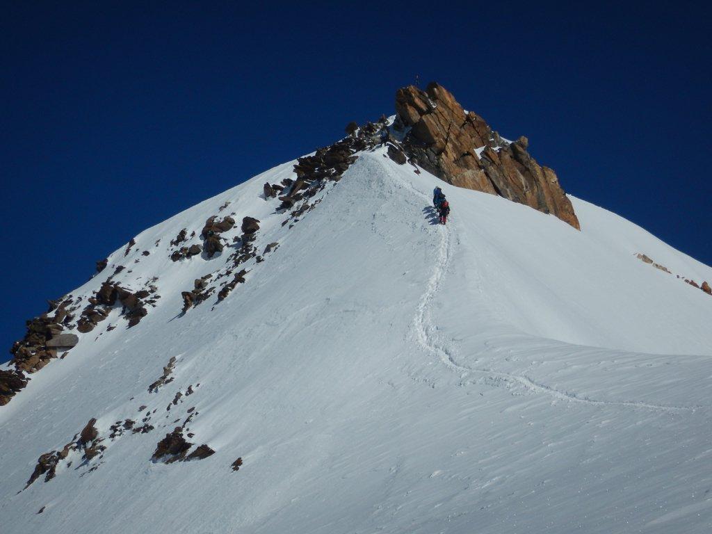 Cresta e roccette per lo Zumstein