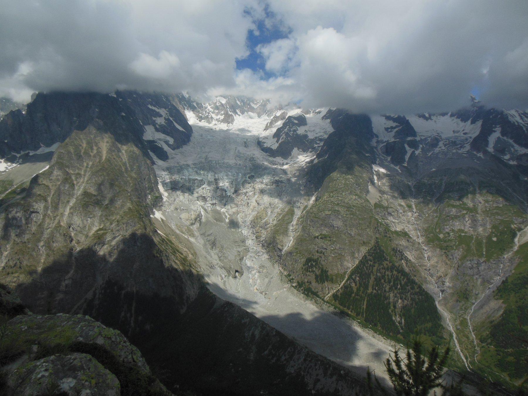 ghiacciaio della Brenva