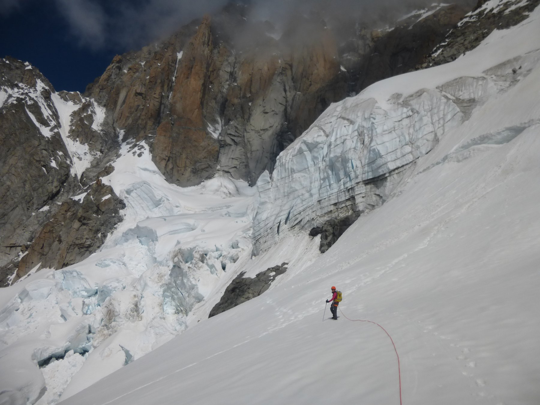 …ghiacciaio del Brouillard...