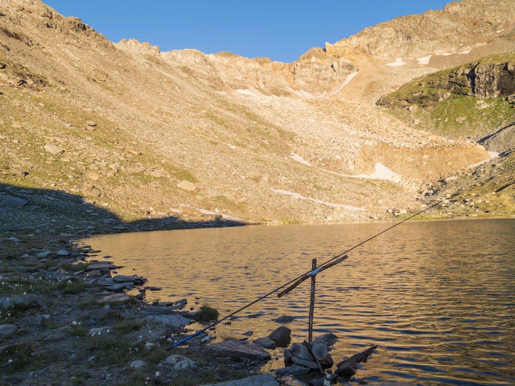 Lago della Vecchia mt.2674......ore 6.00...