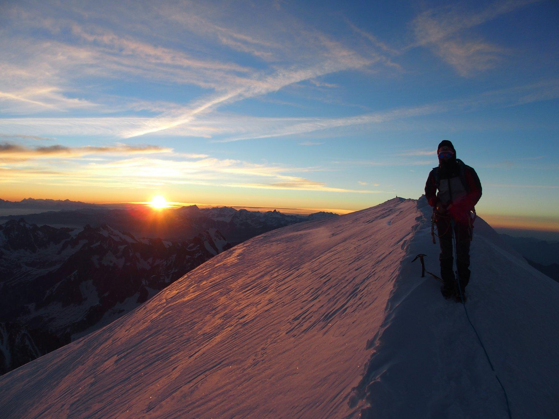 alba dalla cima