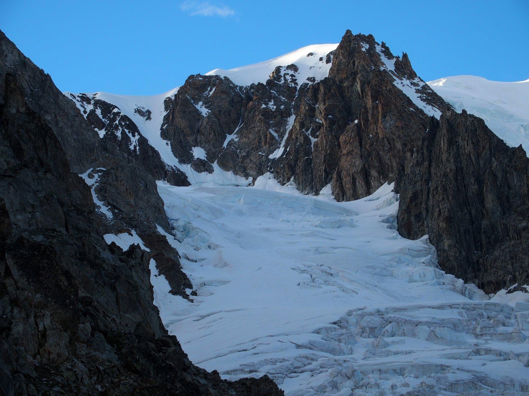 Dal Gonella condizioni del ghiacciao del Dome