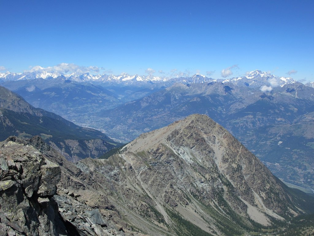 Panoramica sul M.Bianco