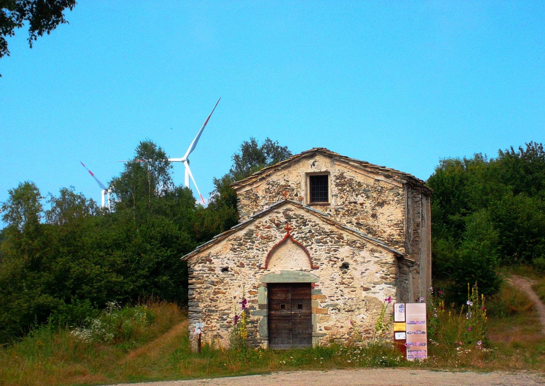 La cappella al Colle di San Giacomo