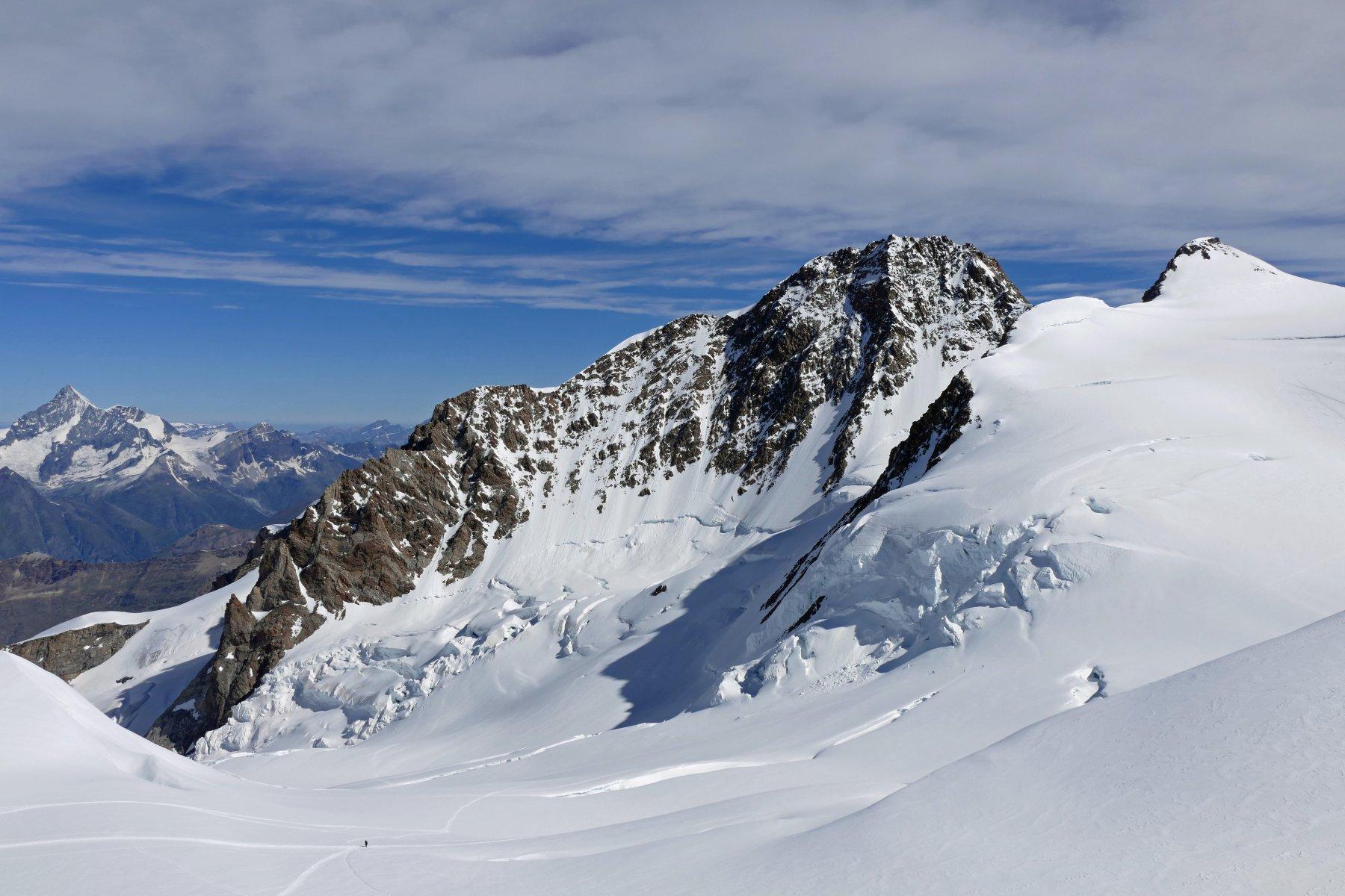 La stupenda Punta Dufour 4634 metri...