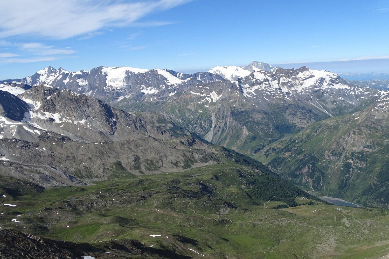 il vallone di Plontaz dalla punta