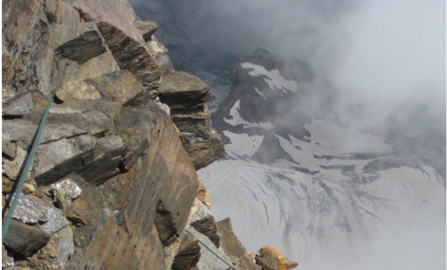 versante val Sesia -parte alta della cresta