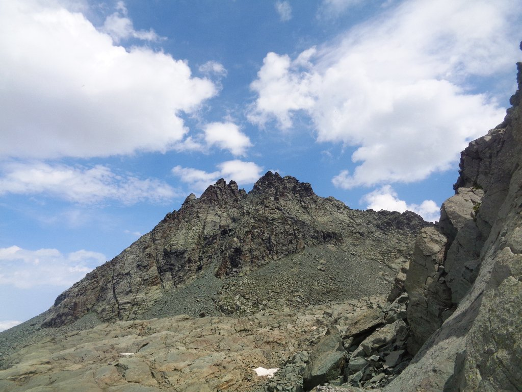 la cima dopo il passo Seillierino
