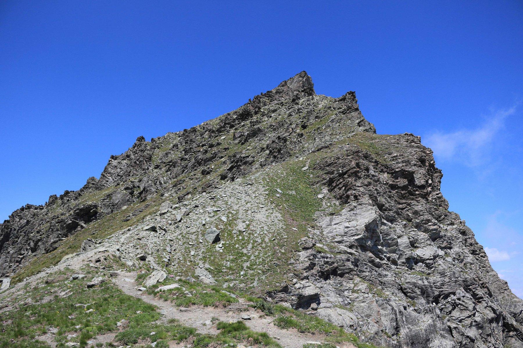 Monte Manzol visto dal colle