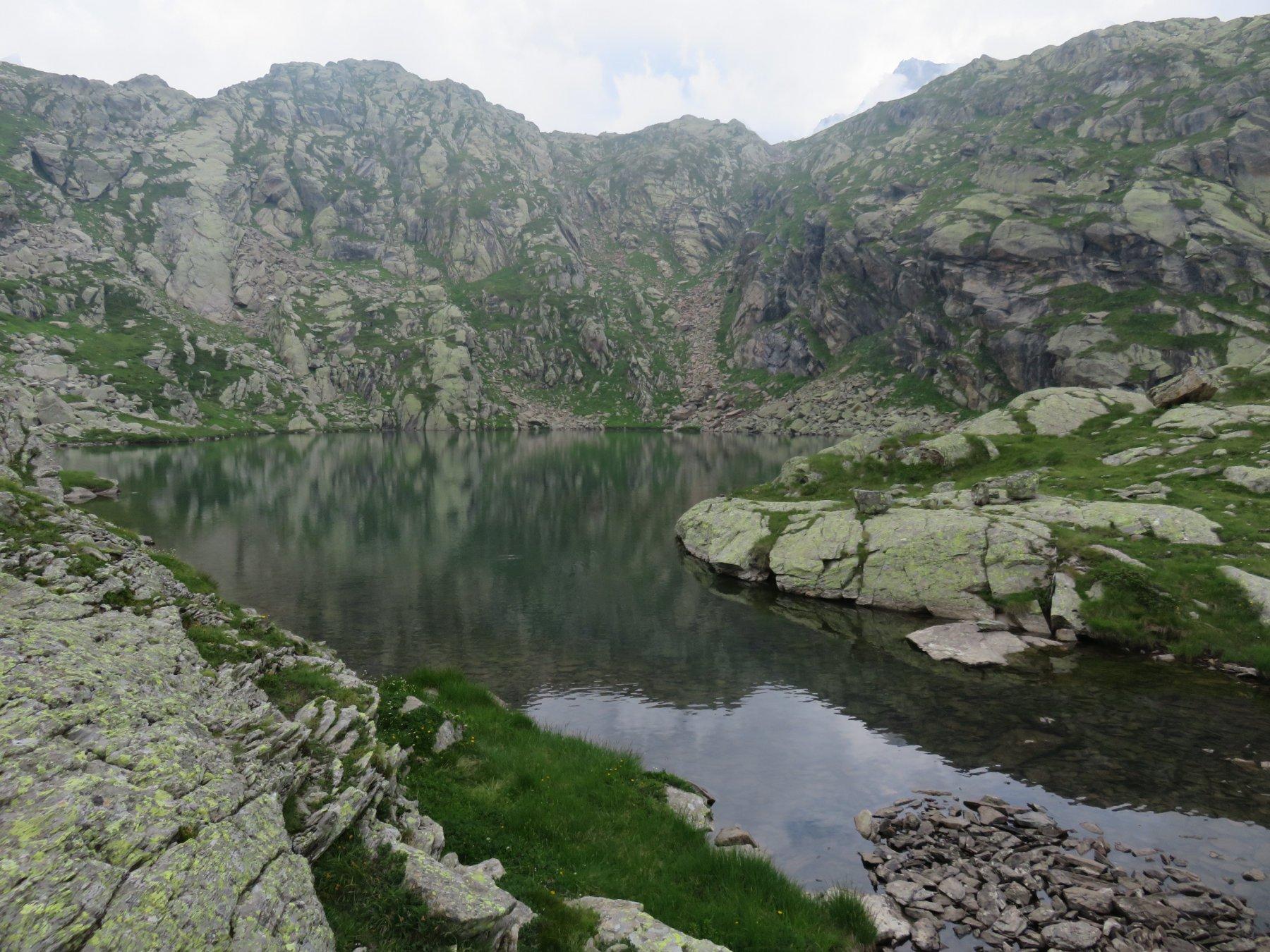 Deviazione in discesa al Lago della Muanda
