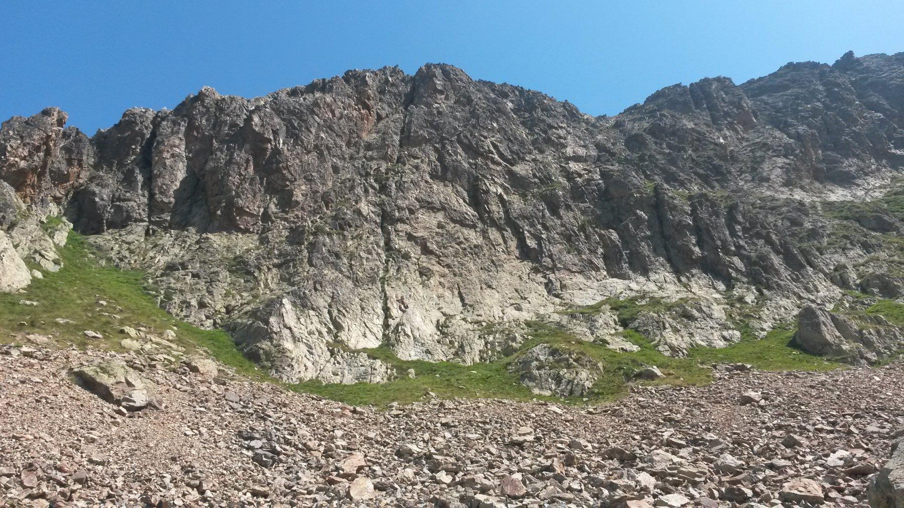Aver (Monte dell') - Contrafforte Ovest Via Checu - Via Lattea - Via del Niglio 2016-07-31