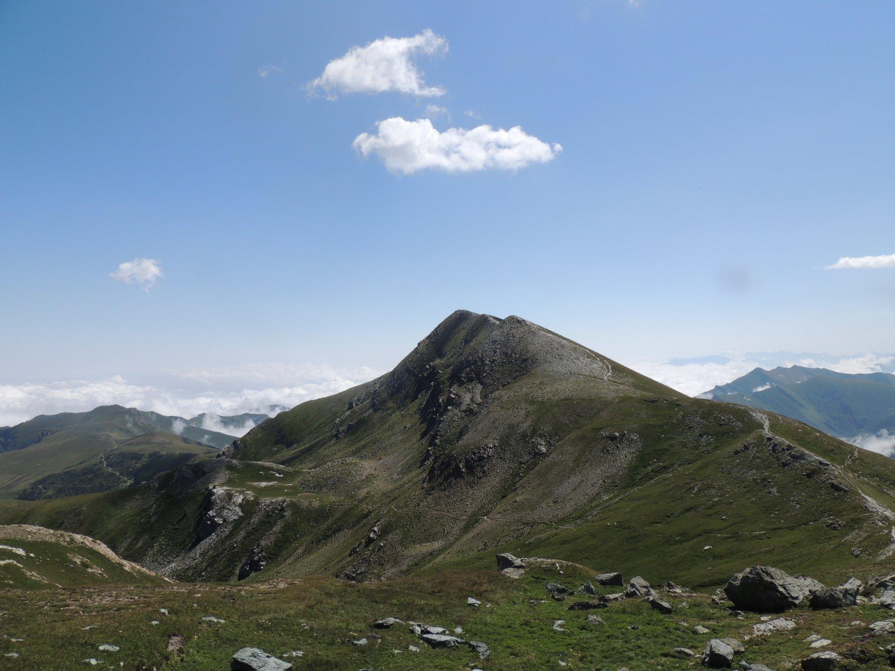 il monte Tibert visto dalla cima Tempesta