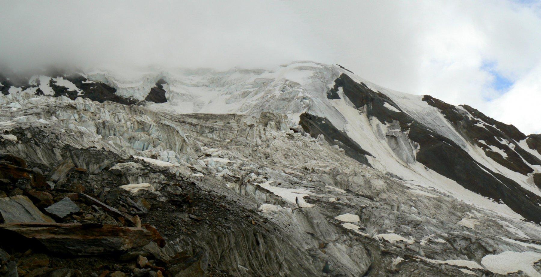 Al termine del ghiacciaio