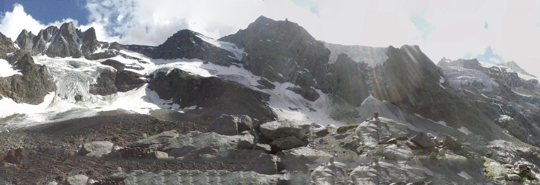 panorama dal Borghi ...