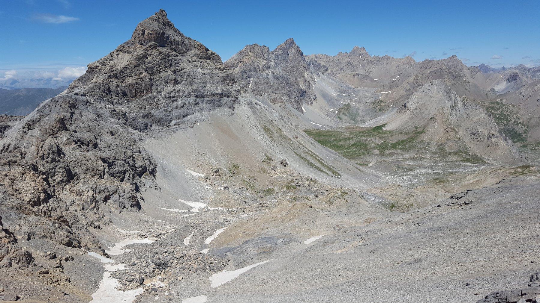 Rocca Blanca, Buc Nubiera, Brec de Chambeyron, Aiguille de Chambeyron