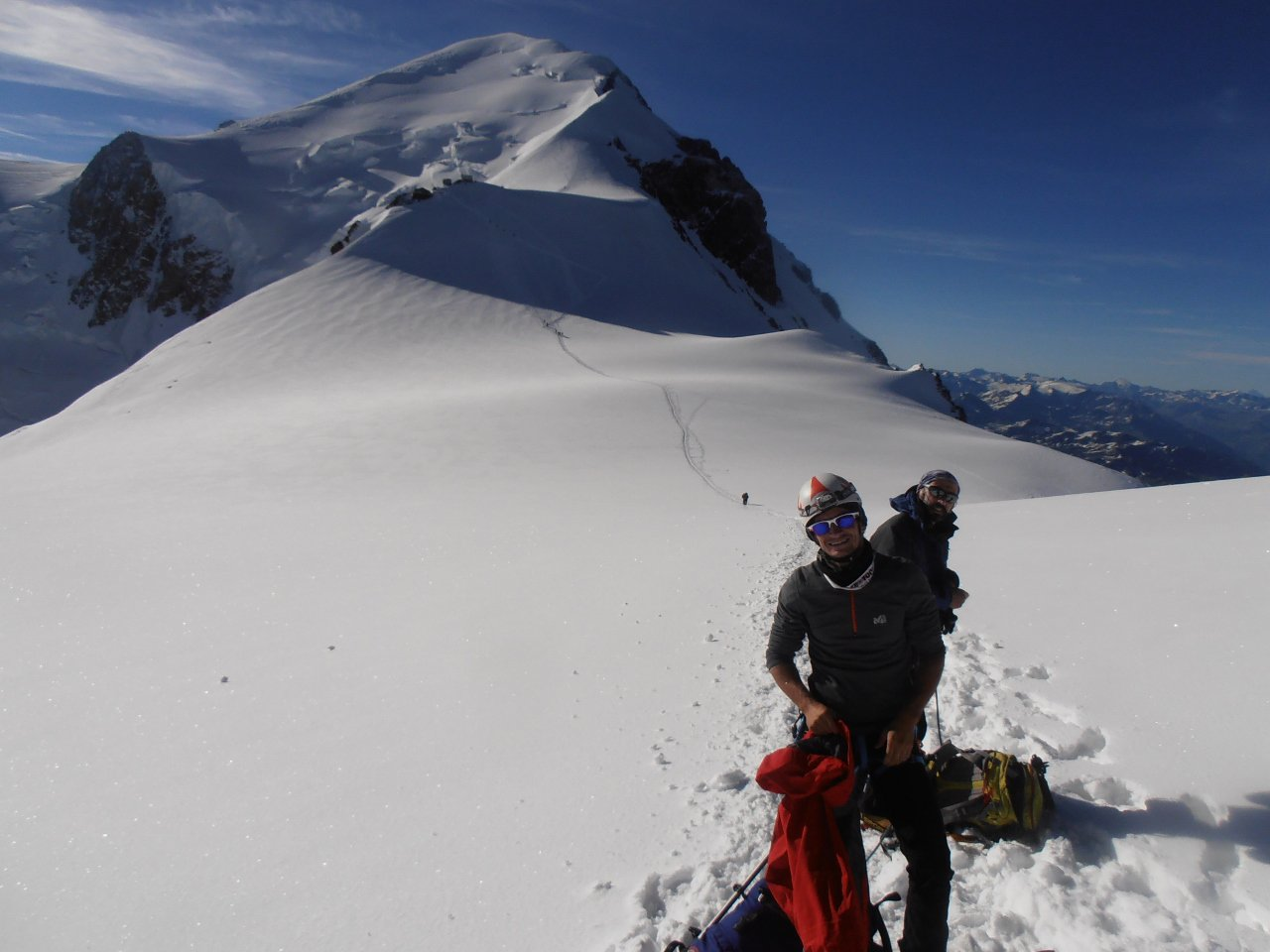11 - Monte Bianco dalla Capanna Vallot