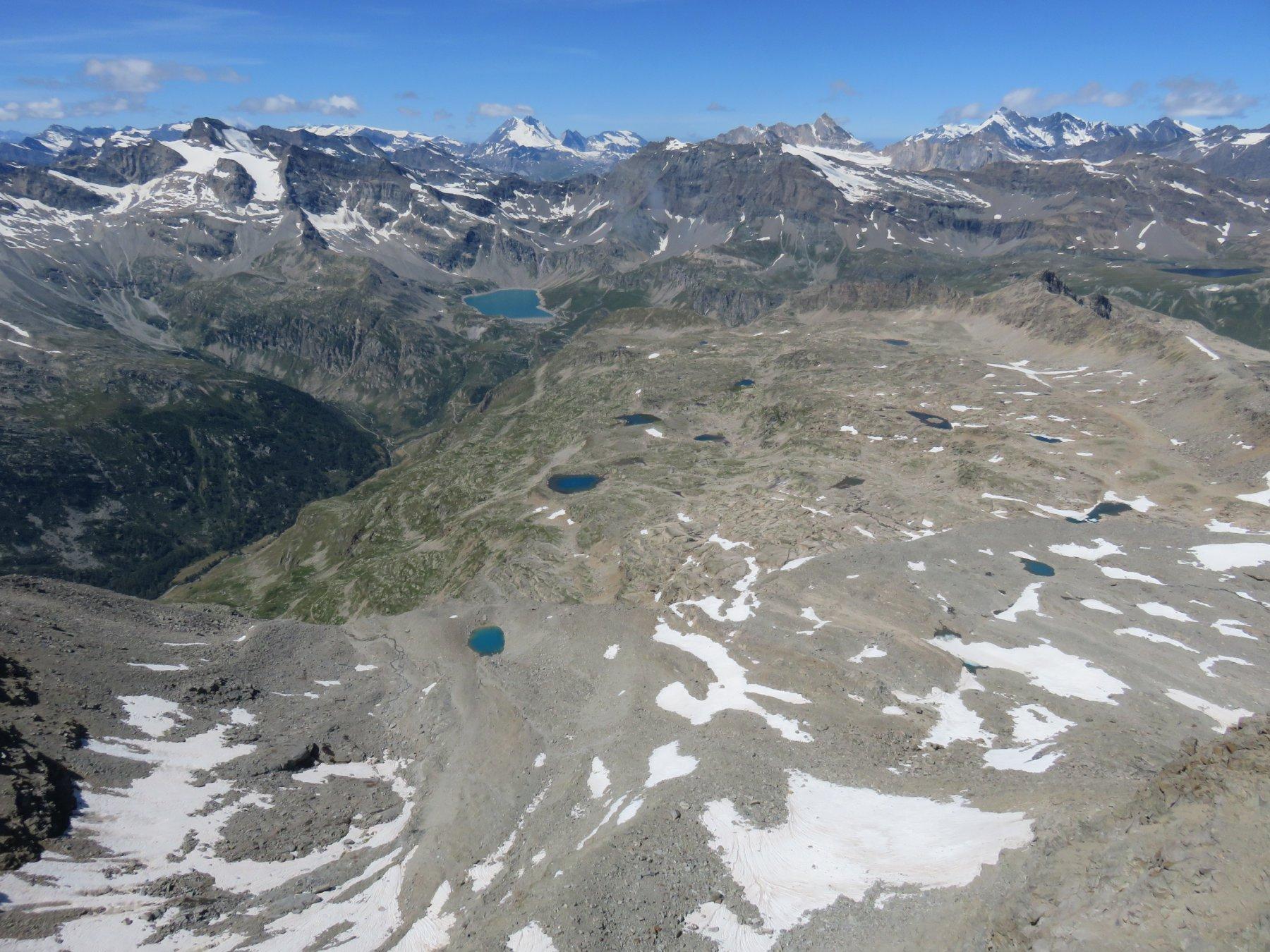Pianoro dei laghi visto dall'alto