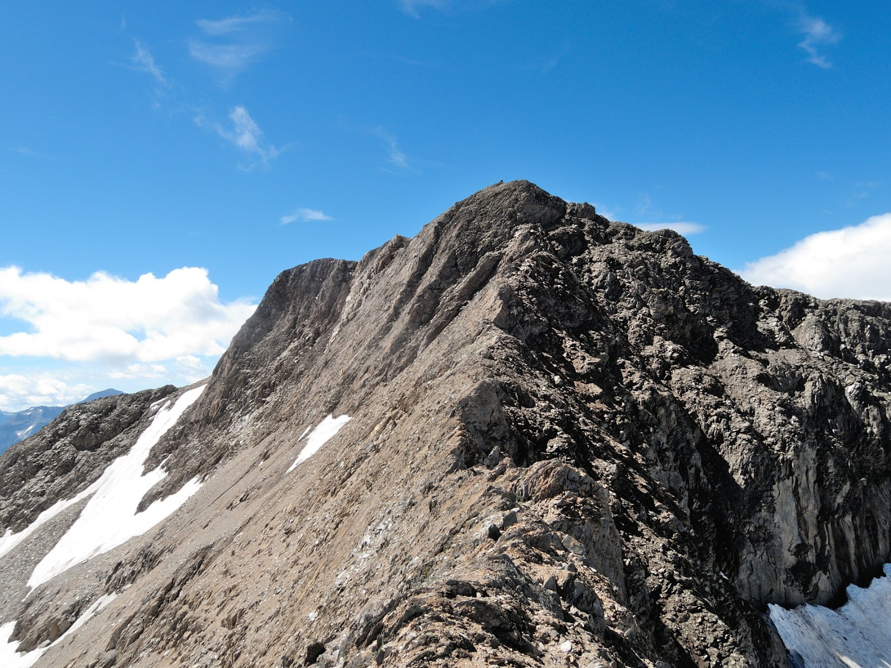 Cresta Nord-Ovest e cima