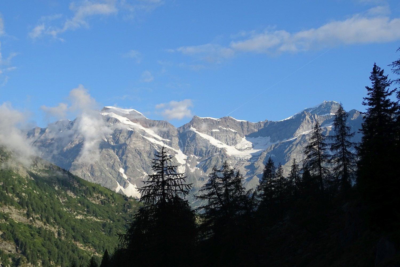 begli scorci panoramici dal sentiero per l'Alpe Quarazzola