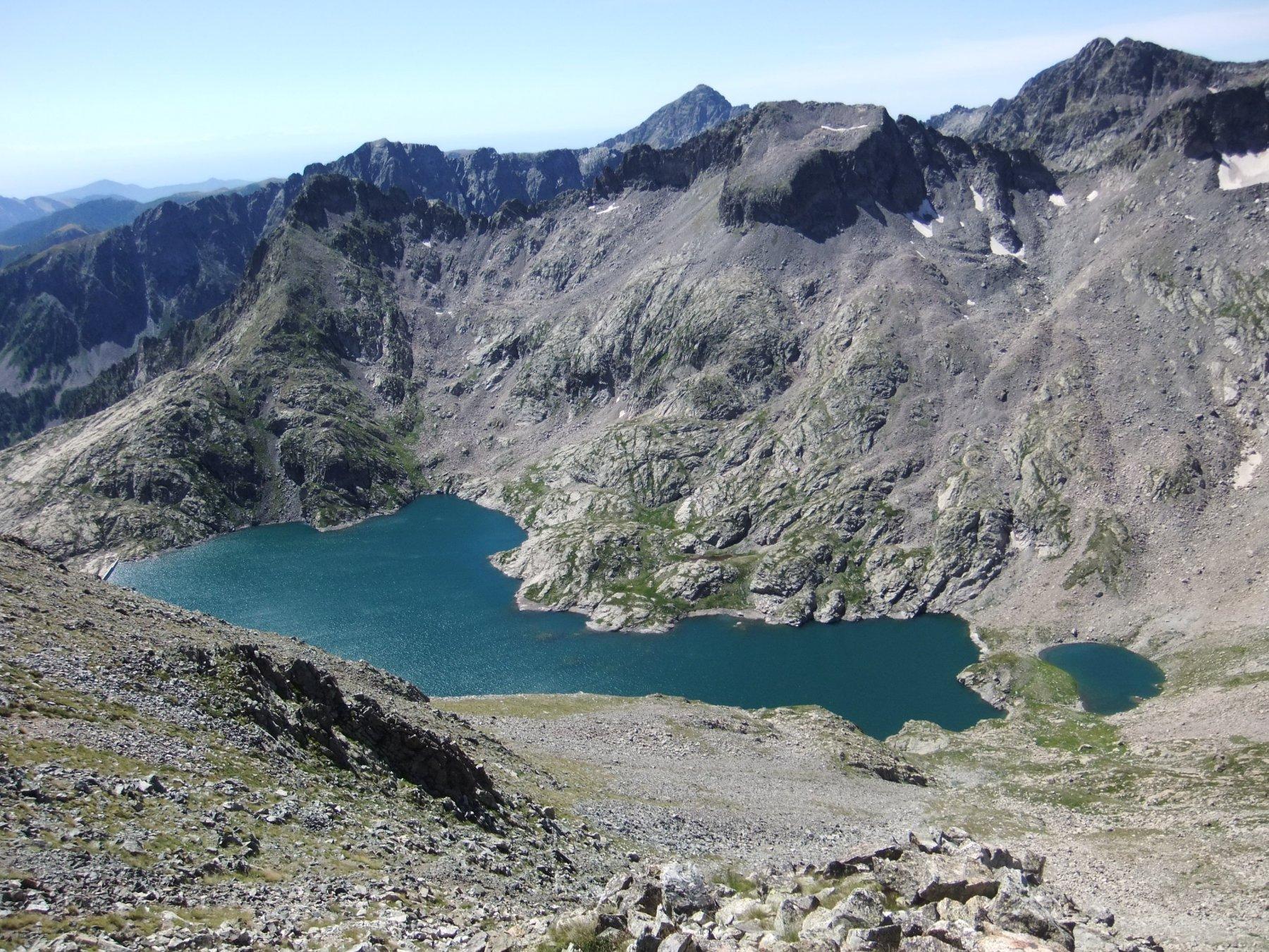 Lac de l' Agnel dalla Cima Est